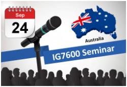 MOCET приглашает на семинар 24 сентября в Австралии